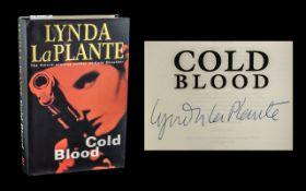 Lynda La Plante Signed Novel 'Cold Blood