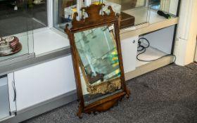 Antique Mahogany Mirror, the lovely fram