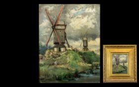 William Hardie Hay RSA 1859 Titled Windm
