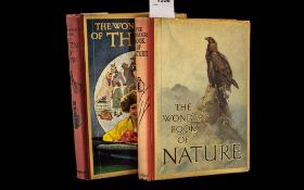 Two Vintage Books, The Wonder Book of Na