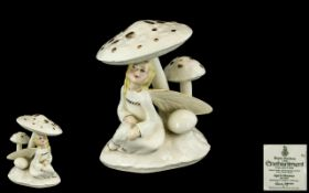 Royal Doulton Hand Painted Ivory Bone Ch