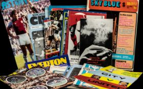 Collection of Manchester City Programmes