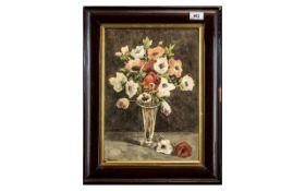 Victorian Still Life Watercolour, a love