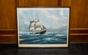 Ship Interest - Limited Edition Print 'Witch of the Wave', by K A Griffin,
