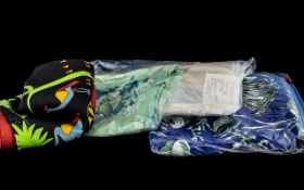 Collection of Scarves for Animal Lovers, four in total,