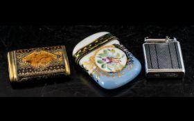 ( 2 ) Interesting Vesta Cases - Both Unmarked.