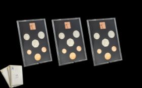 Three 1978 Proof Coin Sets United Kingdom and Northern Ireland