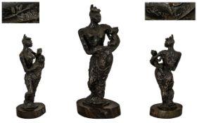 Leon Underwood (1890-1975) Modern British School Bronze Sculptor, Painter & Print Maker of Repute,