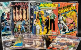 Large Collection of Vintage DC Comics.