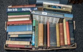 Box of Miscellaneous Books, various nove