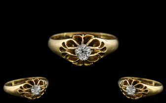 18ct Yellow Gold - Excellent Quality Sin