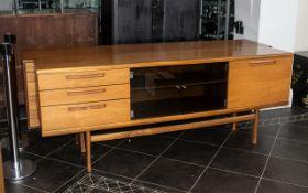 A Mid Century Designer Teak Sideboard, w