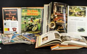 A Large Collection of Motorcycle Magazin