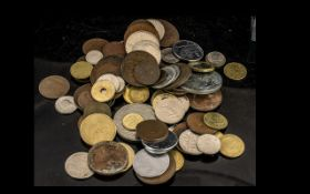 Bag of Mixed Coins - Crowns, Old Copper