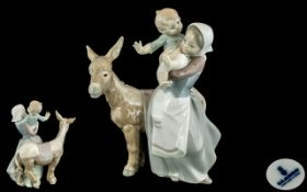 Lladro - Hand Painted Porcelain Figure '