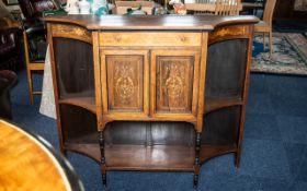 Edwardian Rosewood Chiffonier Cabinet, p