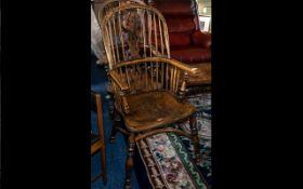 Reproduction Hoop-Backed Windsor Armchai