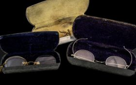 Collection of Antique Spectacles ( 3 ) B