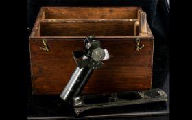 Boxed Antique Brass 'Lord Kelvin's Azimu