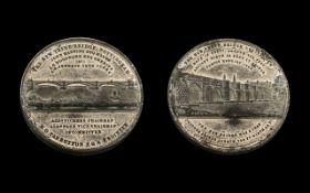 Nottingham Interest - A Large Silvered M