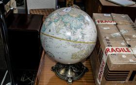 "A Globemaster 12"" Diameter Globe."