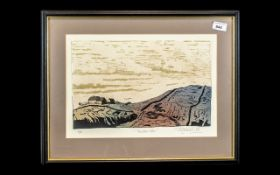 Artist's Proof Titled 'Thurlstone Moor' Limited Edition No. 6/10.