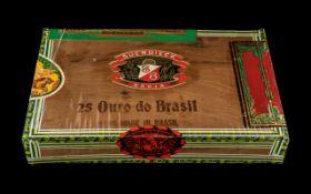 Suerdieck Bahia Box of ( 25 ) Handmade In Brazil Superior Quality Cigars.