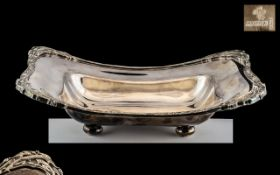 Celtic Design Silver Plated Bread Bowl of fine, heavy, quality, made by Lloyd Payne and Amiel Ltd.