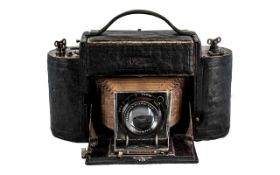 Camera Interest - Rare Large Size Zeiss Lens I. A.