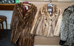 Two Ladies Fur Coats,