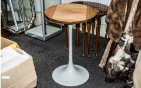 1970's West German Occasional Table by Wattenheim Kunststoffwerke,