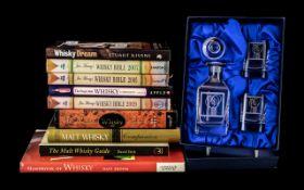 Collection of Whisky Associated Books comprising Jim Murray's Whisky Bible, 2005 - 2007 - 2009, Dave