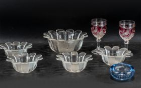 Collection of Quality Glass Ware,