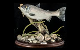 Border Fine Arts Limited Edition Figure 'King of the River'. No 270/950, 2003.