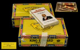 King Edward Imperial - One Box of ( 50 ) Cigars, Never Opened - Still In Wrappers,