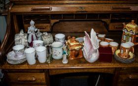 Large Quantity of Pottery & Bone China, comprising set of Price Kensington Cottage Ware Tea Pot,