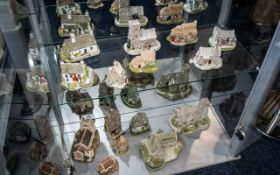 A Collection of Lilliput Lane Ceramics Including - Lilliput Lane, St Lawrence Church, The Spinney,