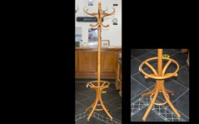 Reproduction Bentwood Coat/Umbrella Stand,