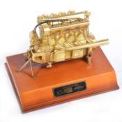 Universal Power 1:5 scale model; Offenhauser Engine, part no.VP-1001