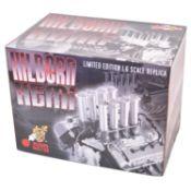 GMP Real Art Replicas 1:6 scale model engine; Hilborn Hemi - black