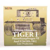 MFH Model Factory Hero 1:35 scale model kit; Tiger I tank - late production