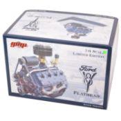 GMP Real Art Replicas 1:6 scale model engine; Ford V8 Flathead - Stock engine
