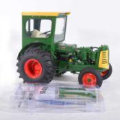 Franklin Mint 1:12 scale mode tractor; Oliver Super 99 diesel