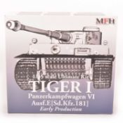 MFH Model Factory Hero 1:35 scale model kit; Tiger I tank