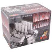 GMP Real Art Replicas 1:6 scale model engine; Hilborn Hemi - orange