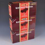 Three Carousel 1 die-cast 1:18 scale models; Kurtis Kraft Roadsters