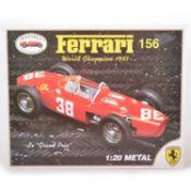 Revival 1:20 scale model kit; Ferrari 156 - World Champion 1961