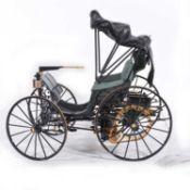 Franklin Mint 1:8 scale model; Duryea motorcar (1893)