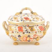 A Royal Crown Derby Imari pattern tureen and cover