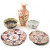 A quantity of Oriental Pottery and Porcelain.